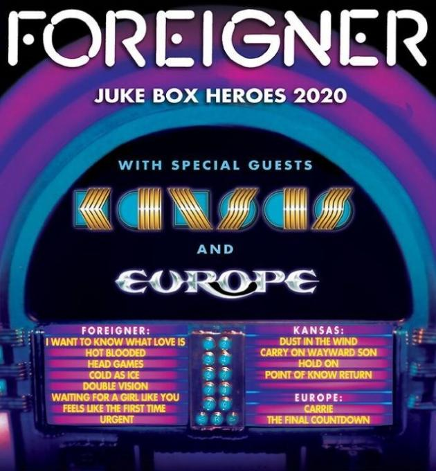 Foreigner, Kansas & Europe at Daily's Place Amphitheater