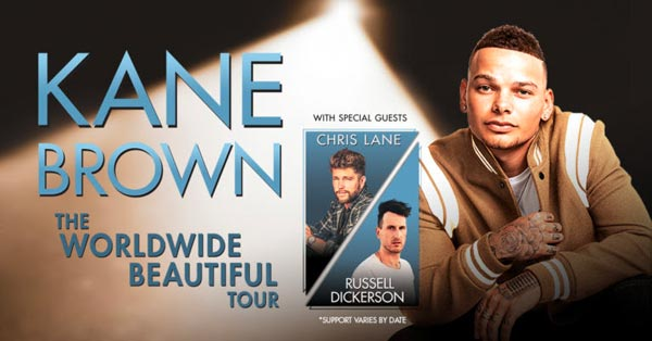 Kane Brown, Chris Lane & Russell Dickerson at Daily's Place Amphitheater