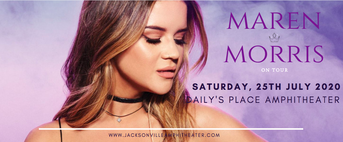 Maren Morris [CANCELLED] at Daily's Place Amphitheater