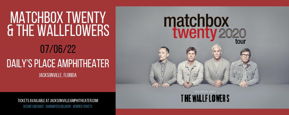 Matchbox Twenty & The Wallflowers at Daily's Place Amphitheater