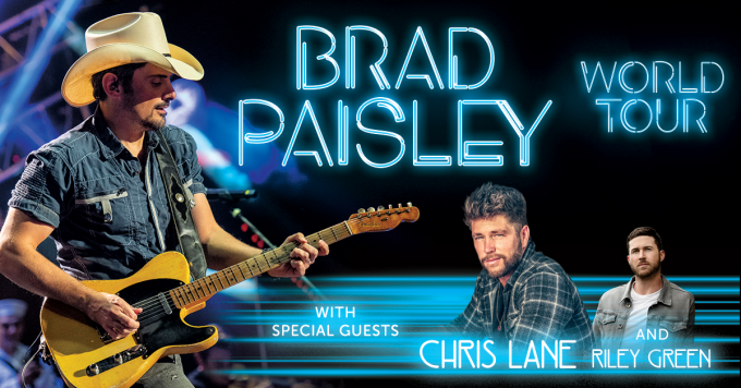 Brad Paisley at Daily's Place Amphitheater