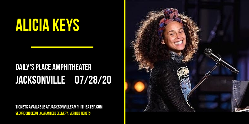 Alicia Keys [CANCELLED] at Daily's Place Amphitheater