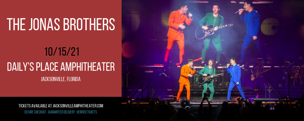 The Jonas Brothers at Daily's Place Amphitheater