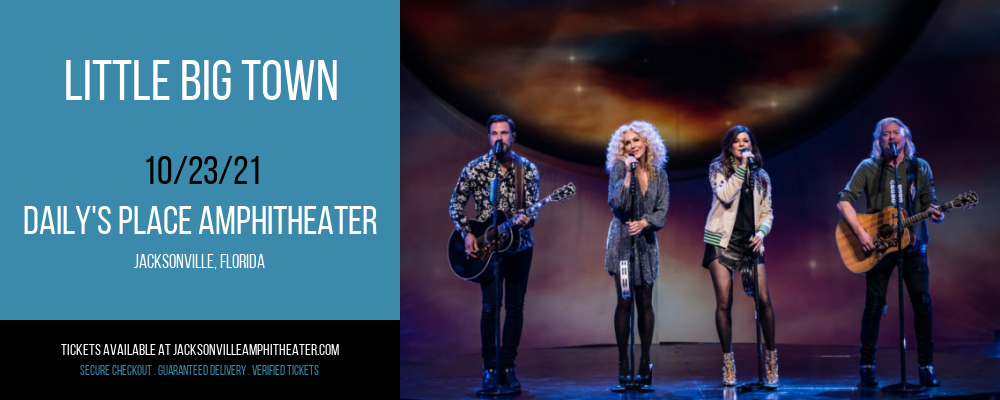 Little Big Town at Daily's Place Amphitheater