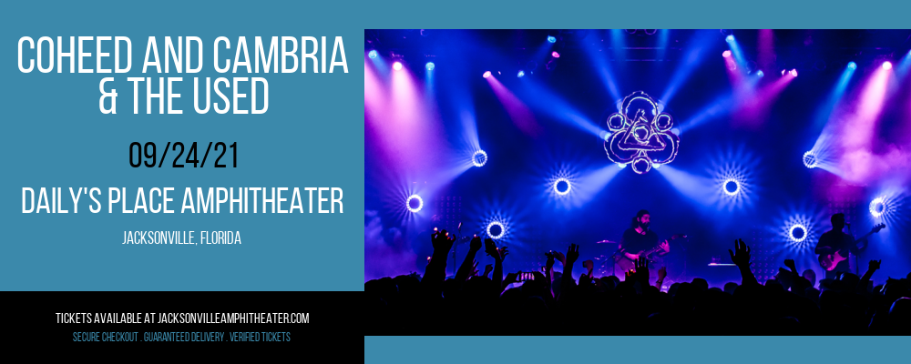 Coheed and Cambria & The Used at Daily's Place Amphitheater