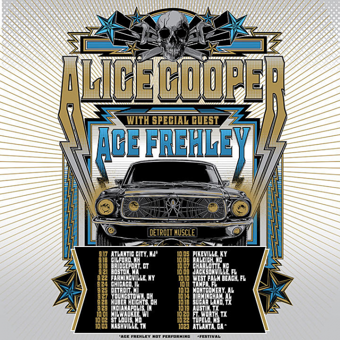 Alice Cooper & Ace Frehley at Daily's Place Amphitheater