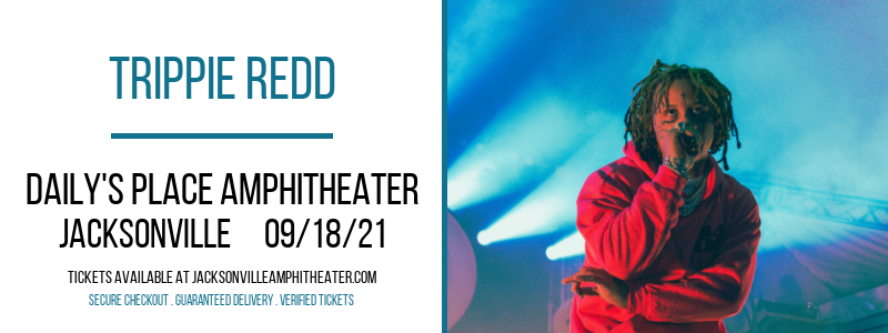 Trippie Redd at Daily's Place Amphitheater