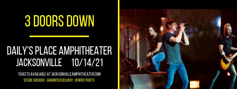 3 Doors Down at Daily's Place Amphitheater