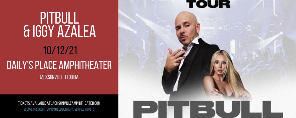Pitbull & Iggy Azalea at Daily's Place Amphitheater
