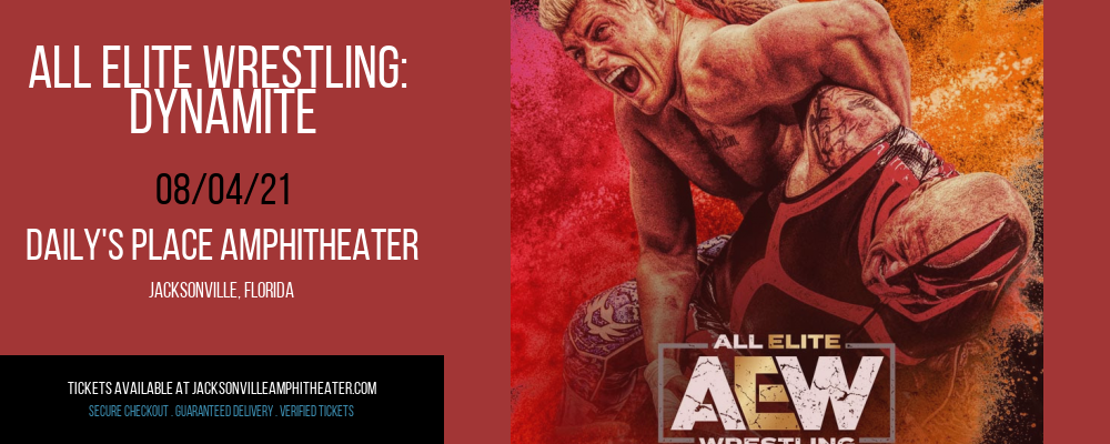 All Elite Wrestling: Dynamite at Daily's Place Amphitheater